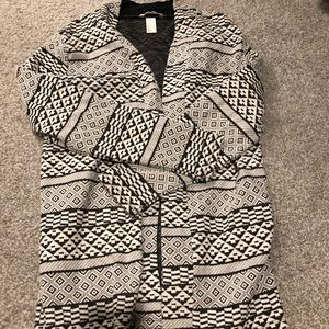 Tribal blazer cardigan from H&M